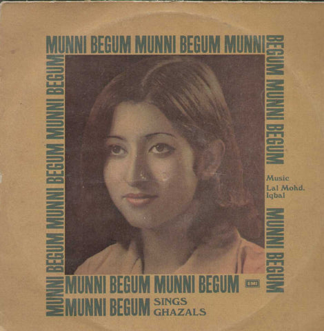 Munni Begum Sings Ghazals Bollywood Vinyl LP