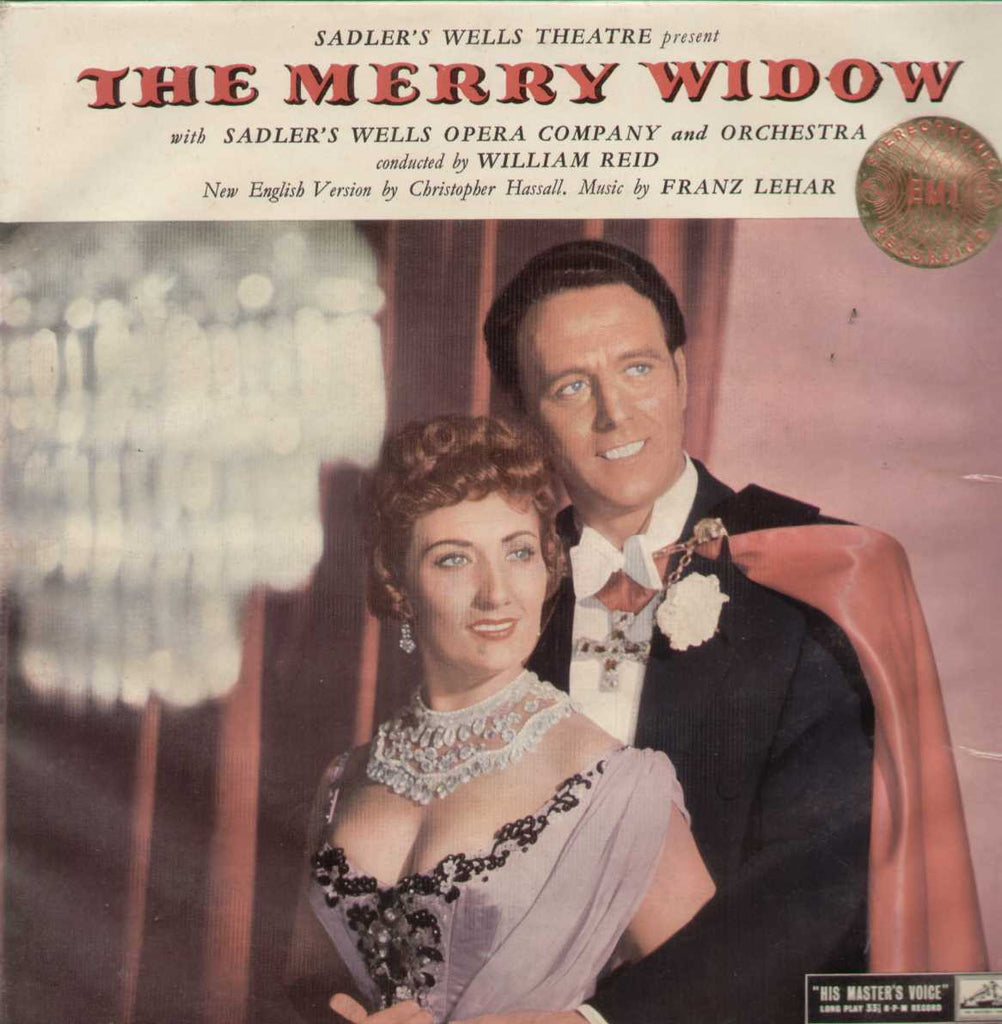 The Merry Widow English Vinyl LP