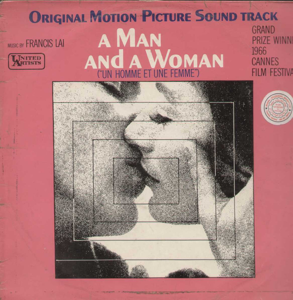A Man And A Women English Vinyl LP