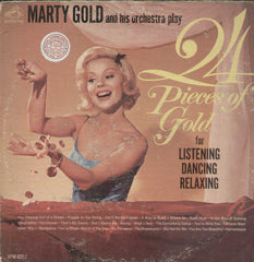 Marty Gold And His Orchestra 24 Pieces Of Gold English Vinyl LP- Dual LP