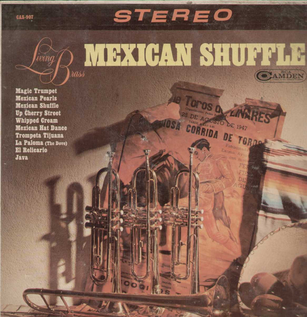 Living Brass Mexican Shuffle English Vinyl LP