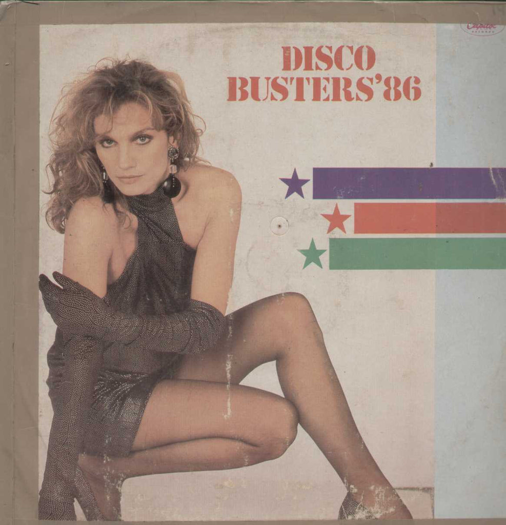 Disco Busters' 86 English Vinyl LP