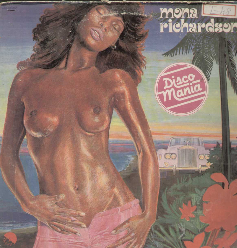 Mona Richardson Disco Mania English Vinyl LP