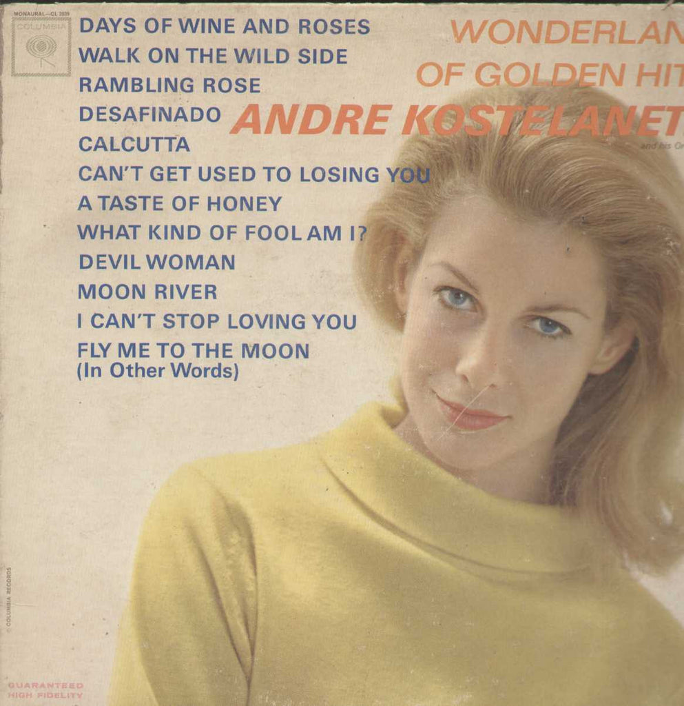 Wonderland Of The Golden Hits Andre Kostelanetz English Vinyl LP