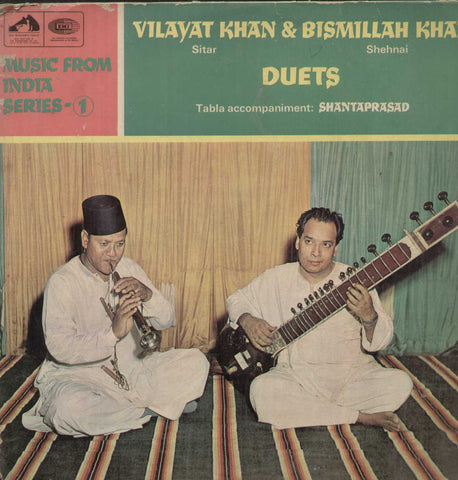 Vilayat Khan And Bismillah Khan Duets Bollywood Vinyl LP