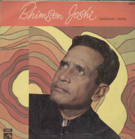 Bhimsen Joshi Classical Vocal Bollywood Vinyl LP- First Press