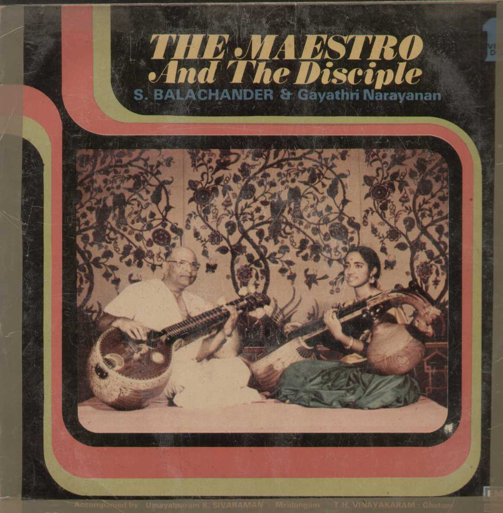 The Maestro And The Disciple S. Balachander And Gayathri Narayanan Bollywood Vinyl LP