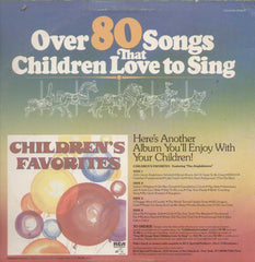 Over 80 Songs That Children Love To Sing English Vinyl LP
