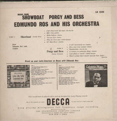 Edmundo Ros And His Orchestra Show Boat And Porgy And Bees English Vinyl LP