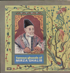 Famous Ghazals Of Mirza Ghalib Bollywood Vinyl LP