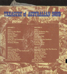 Treasury Of Australian Song English Vinyl LP