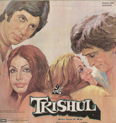Trishul 1970 Bollywood Vinyl LP