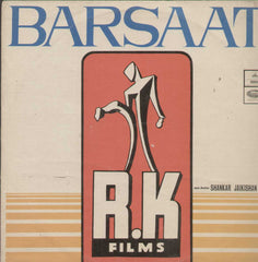Barsaat 1960  Bollywood Vinyl LP