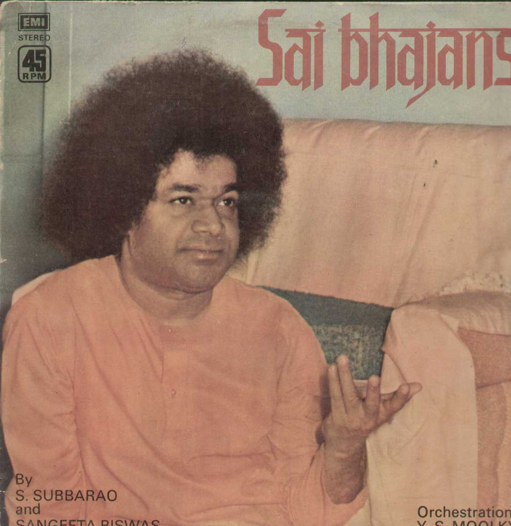 Sai Bhajans By S. Subbarao And Sajngeeta Biswas Bollywood Vinyl LP