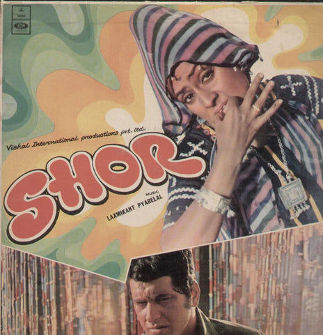Shor 1970 Bollywood Vinyl LP