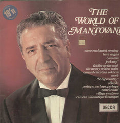 The Worls Of Mantovani English Vinyl LP