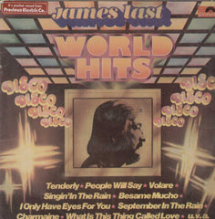 James Last World Hits English Vinyl LP