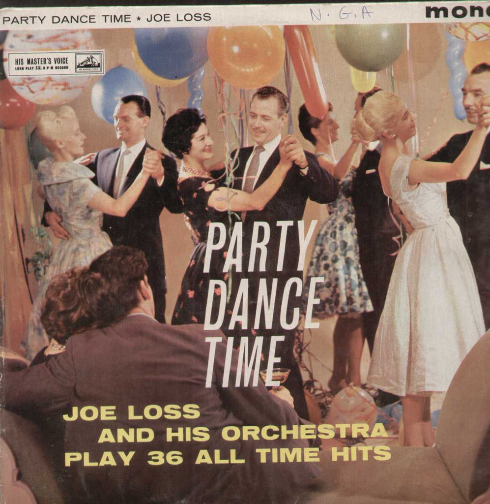 Party Dance Time Joe Loss And His Orchestra Play 36 All Time Hits English Vinyl LP