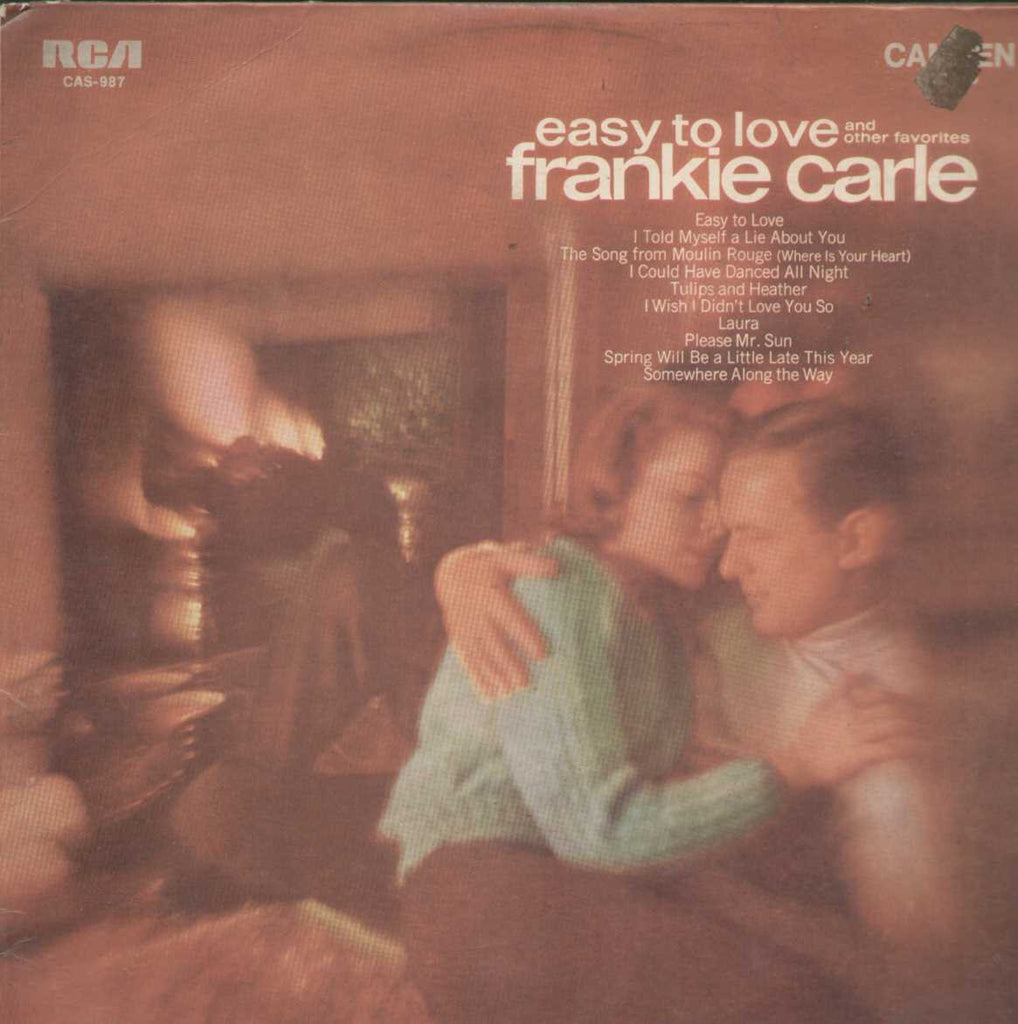 Easy To Love And Other Favorites Frankie Carle English Vinyl LP