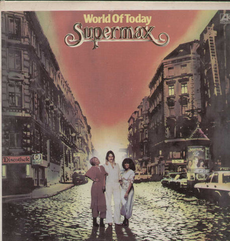 World Of Today Supermax English Vinyl LP
