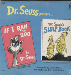 Dr. Seuss Presents If I Ran The Zoo And Sleep Book English Vinyl LP