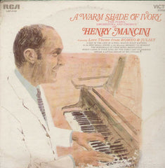 A warm Shade Of Ivory The Piano Orchestra And Chorus Of Henry Mancini English Vinyl LP