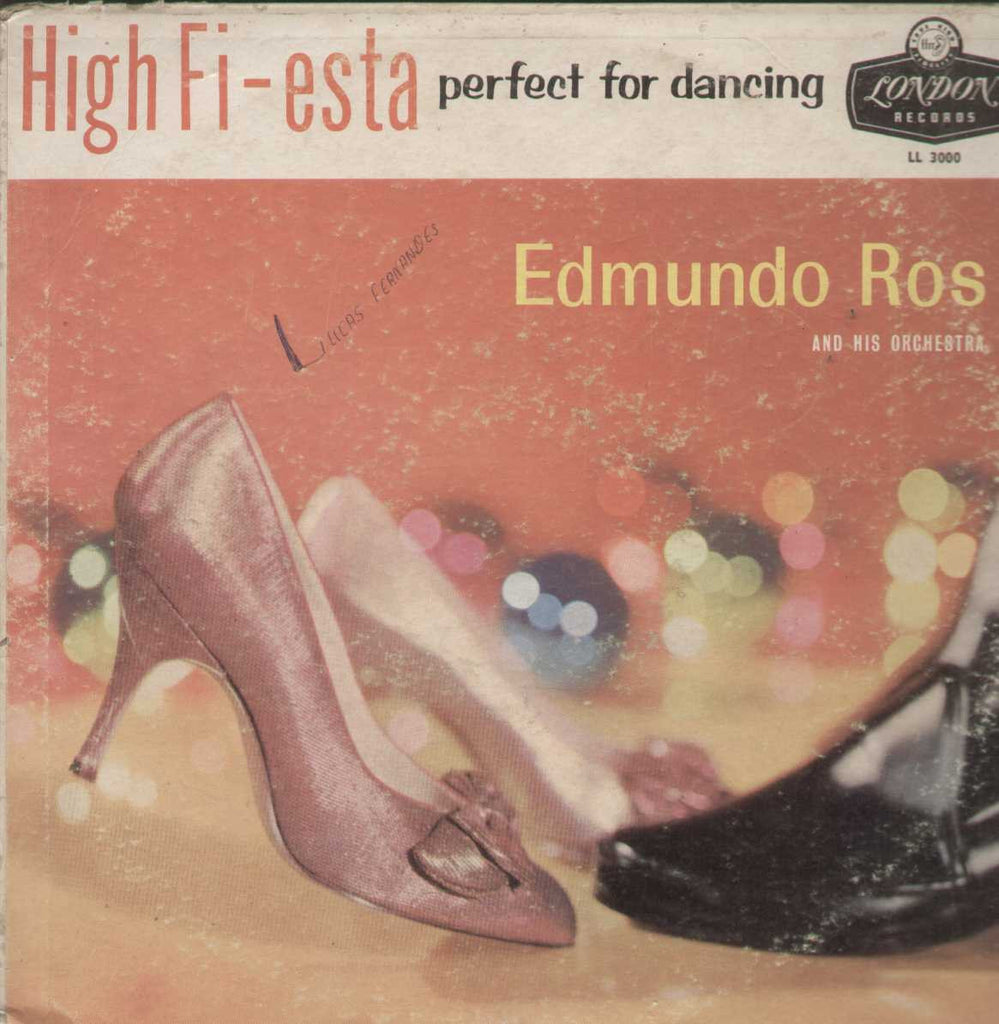High Fi-Esta Perfect For Dancing Edmundo Ros And His Orchestra English Vinyl LP