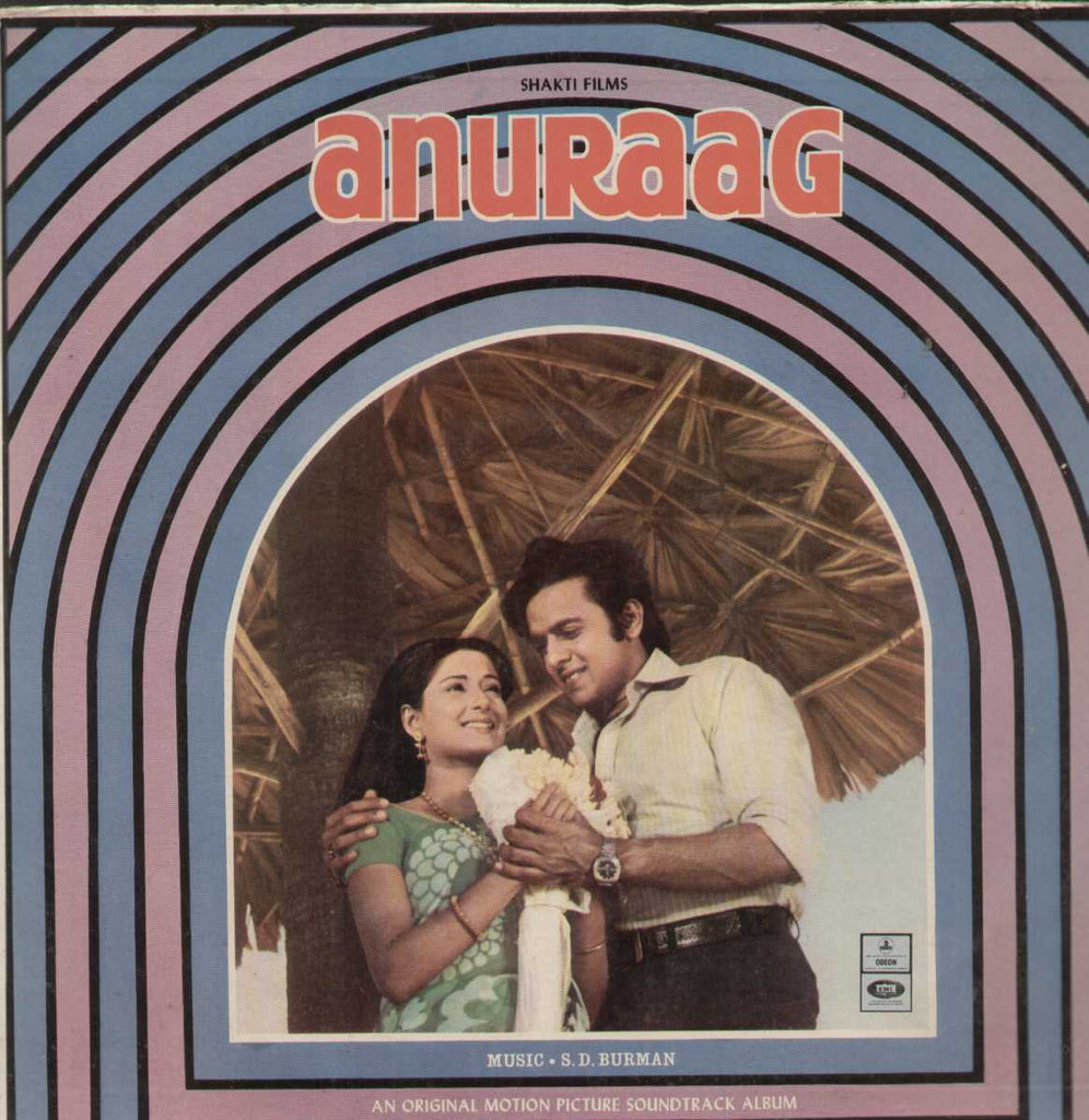 Anuraag 1960 Bollywood Vinyl LP- First Press