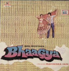 Bhaagya 1981 Bollywood Vinyl LP