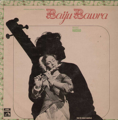 Baiju Bawra 1960 Bollywood Vinyl LP
