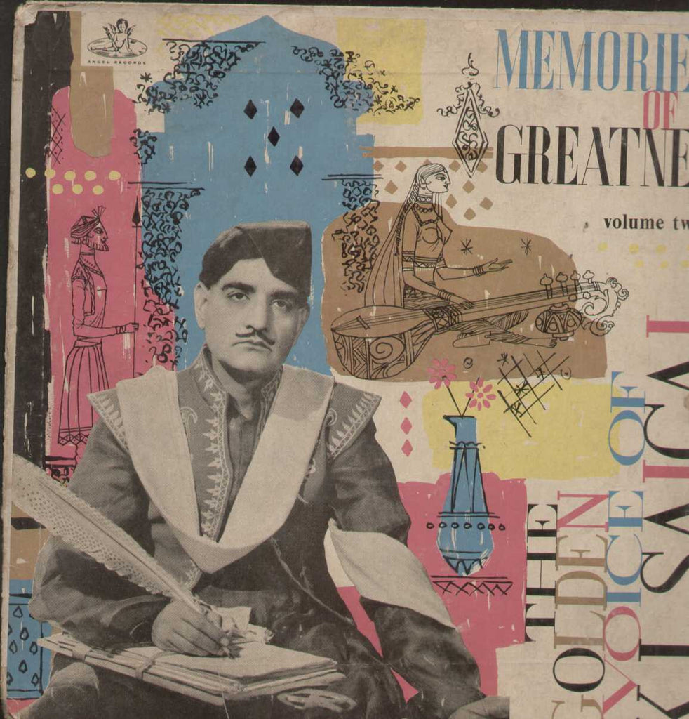 Golden Voice Of K.L. Saigal Vol 2 Bollywood Vinyl LP