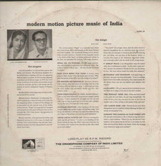 India Lata Mangeshkar And Hemanth Kumar With Chorus And Orchestra 1993 Bollywood Vinyl LP- First Press