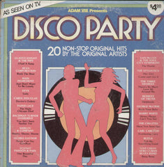 Disco Party 20 Non - Stop Original Hits By The Original Artists English Vinyl LP