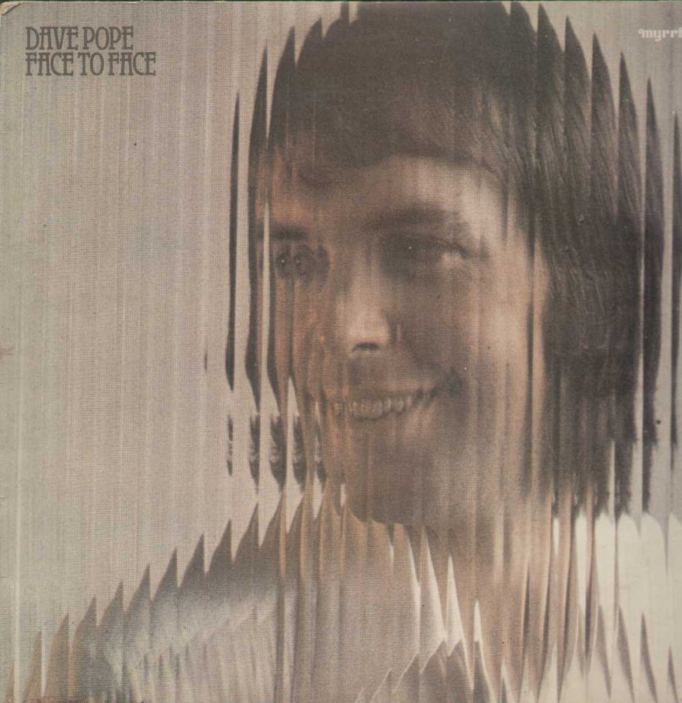 Dave Pope Face To Face English Vinyl LP