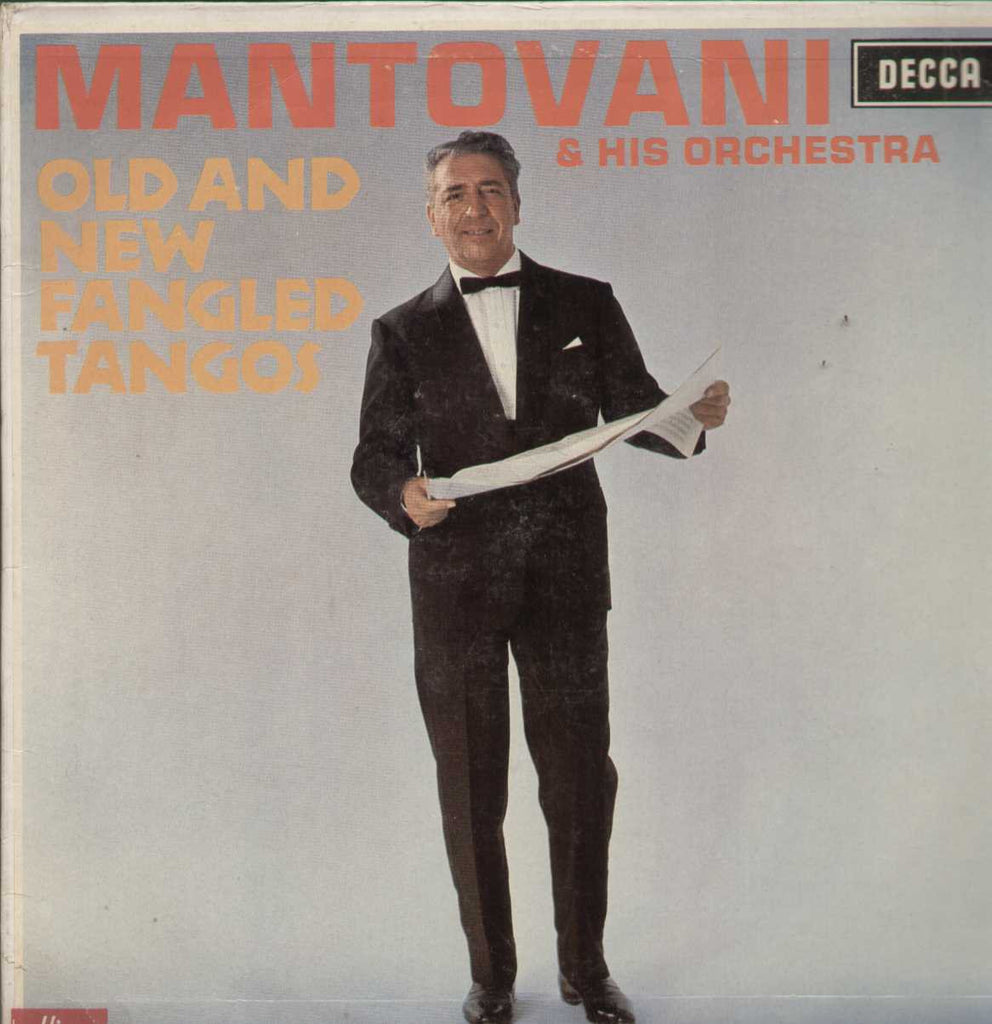 Mantovani And His Orchestra Old And New Fangled Tangos English Vinyl LP