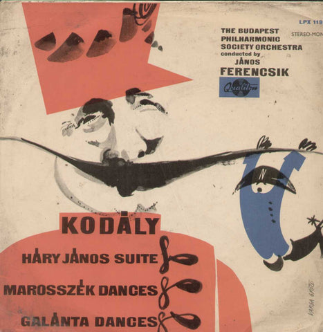 Zoltan Kodaly Hary Janos- Suite English Vinyl LP