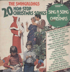 The Swingalongs 20 Non Stop Christmas Songs English Vinyl LP