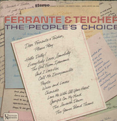 Ferrante And Teicher The People's Choice English Vinyl LP