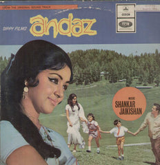 Andaz 1970 Bollywood Vinyl LP