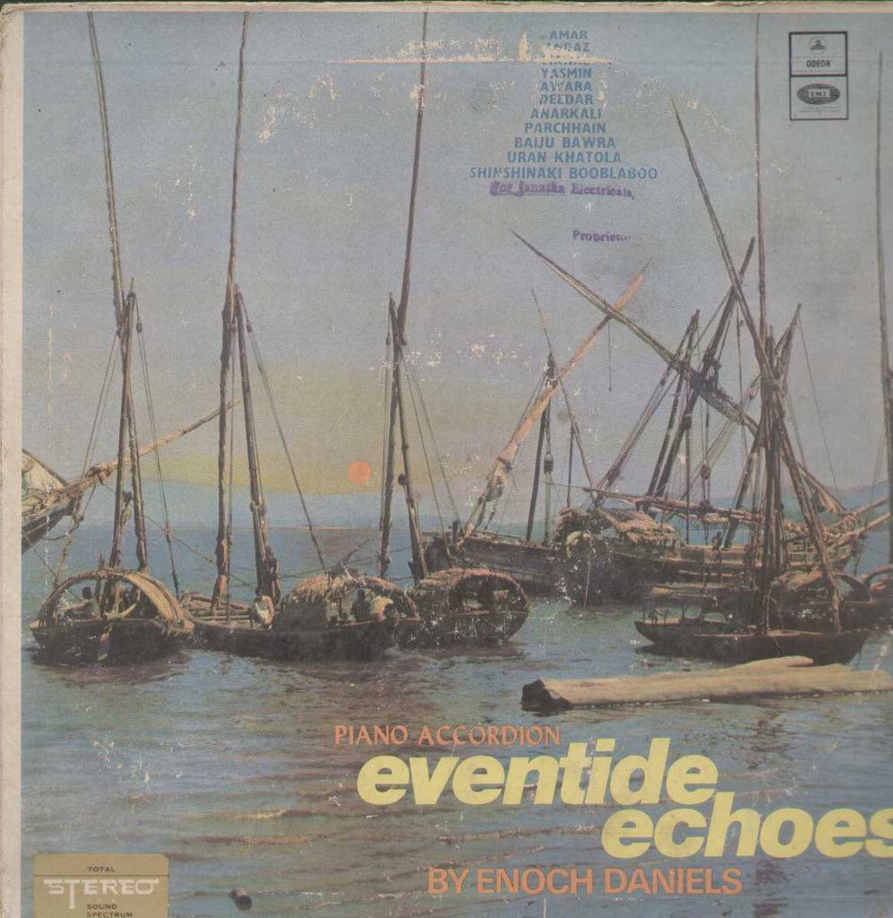 Piano Accordion Eventide Echoes By Enoch Daniels Bollywood Vinyl LP