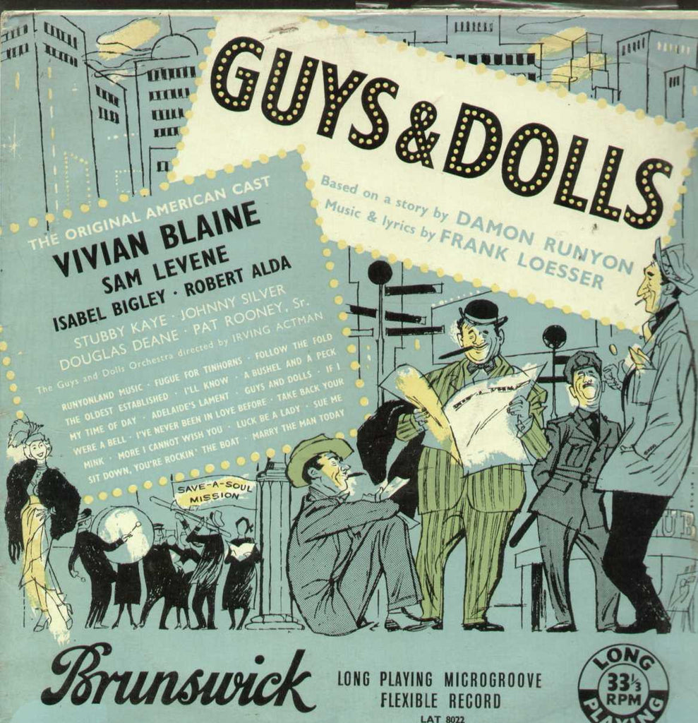 Guys And Dolls English Vinyl LP