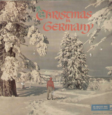 Christmas In Germany English Vinyl LP- First Press