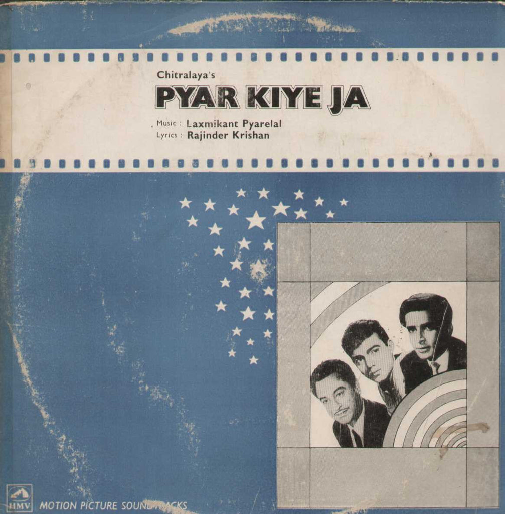Pyar Kiye Ja 1966 Bollywood Vinyl LP