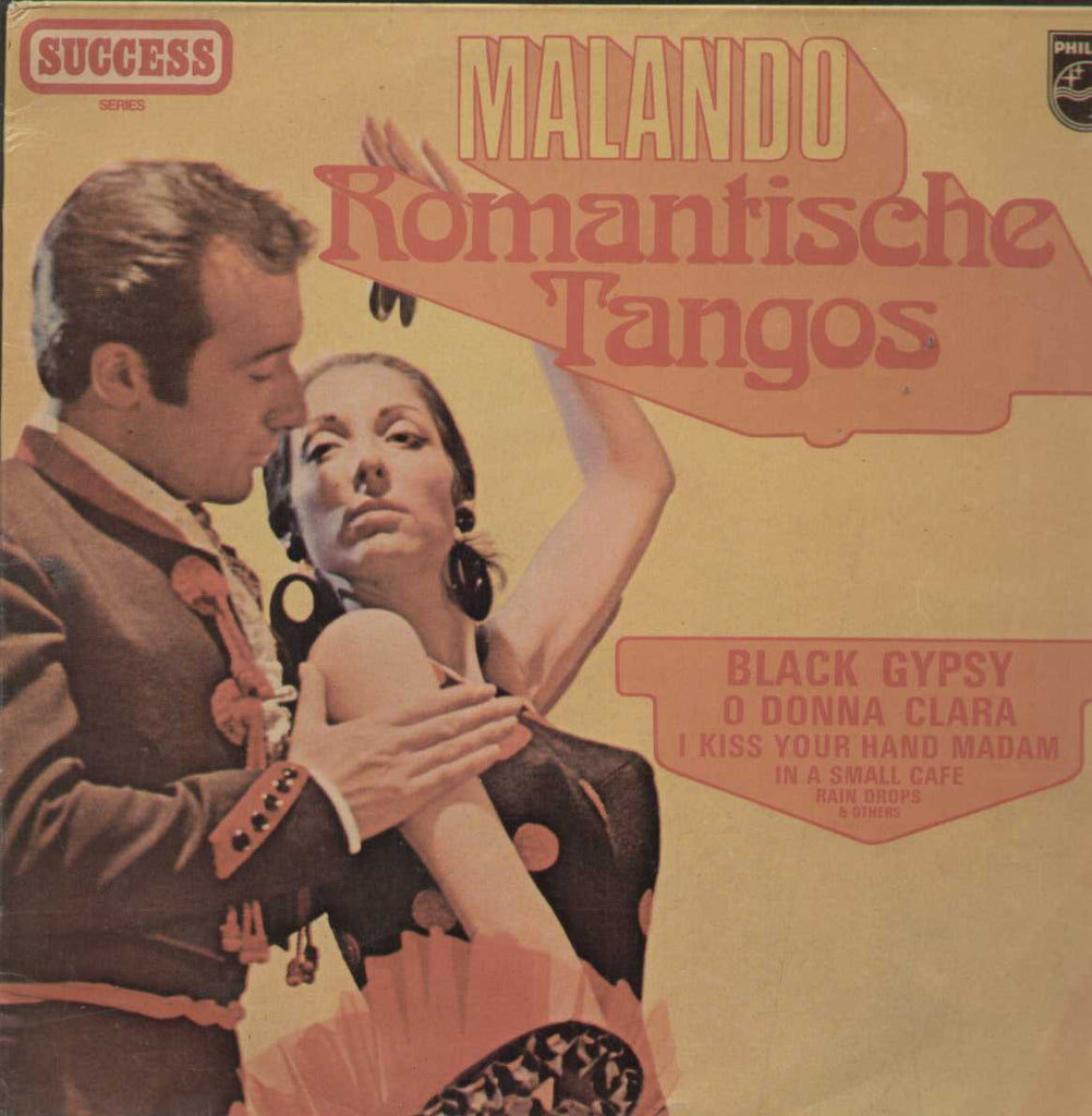 Malando Romantische Tangos English Vinyl LP