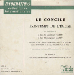 Le Concile Printemps De Leglise English Vinyl LP