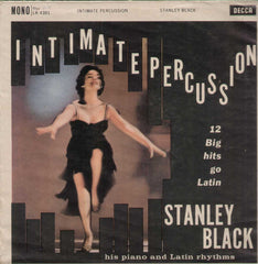 Intimate Percussion Stanly Black English Vinyl LP