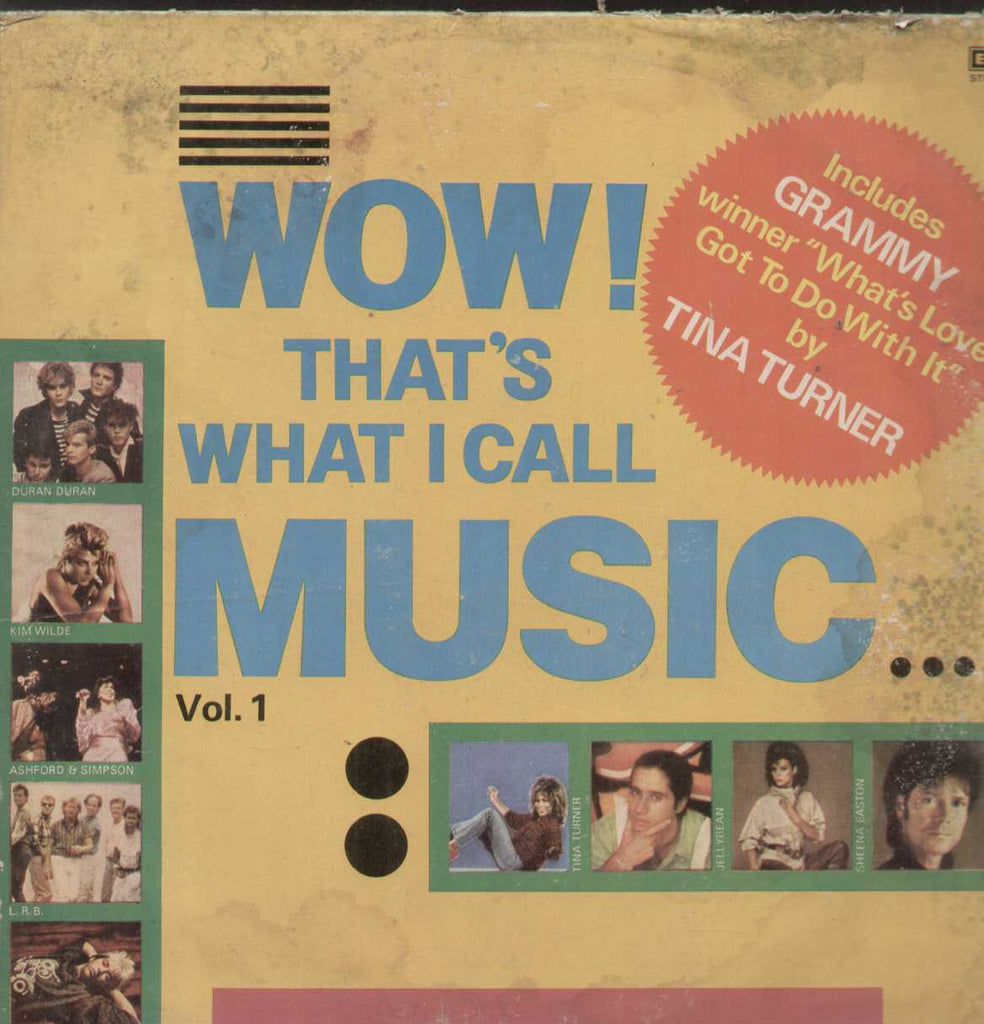 Wow Thats What I Call Music Vol 1 English Vinyl LP