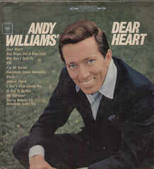 Andy Williams Dear Heart English Vinyl LP