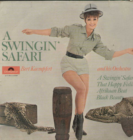 A  Swingin Safari Bert Kaemfert And His Orchestra English Vinyl LP