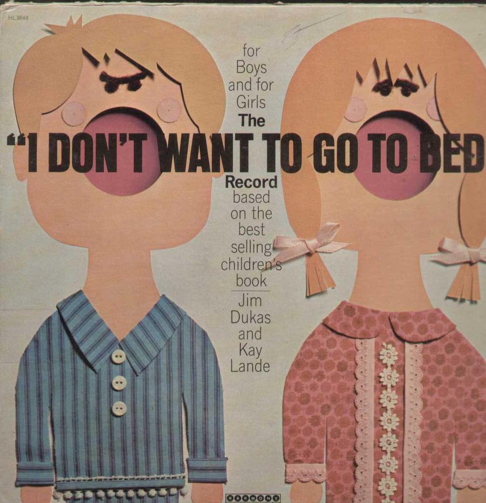 I Dont Want To Go To Bed English Vinyl LP